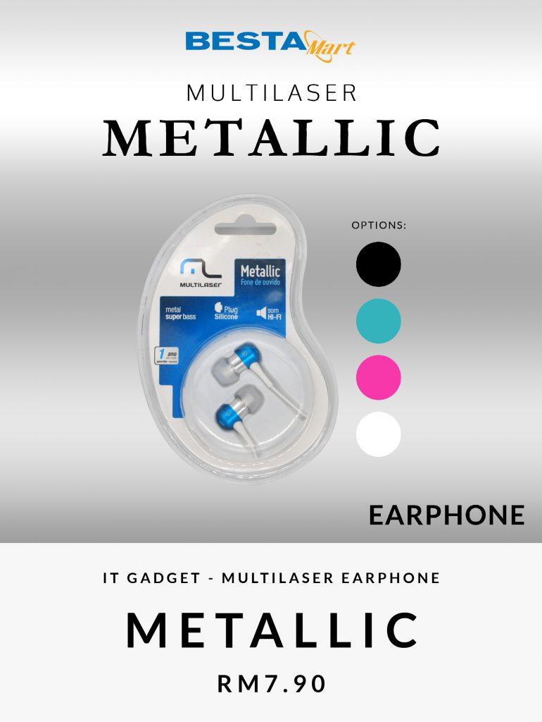 Home Trending Multilaser Metallic
